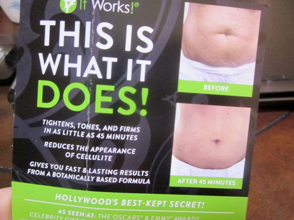 body wrap raffle prize