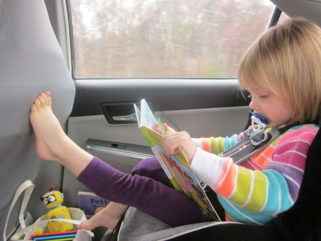 road tripping with a toddler
